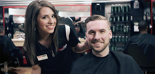 Sport Clips Haircuts of Tustin​ stylist hair cut